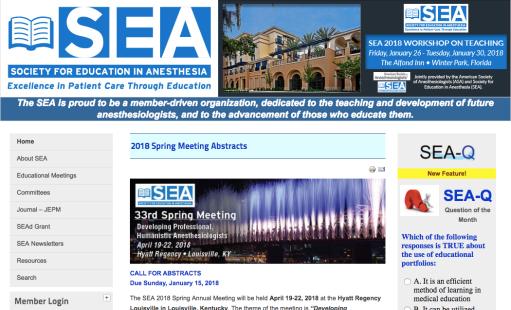 SEA website